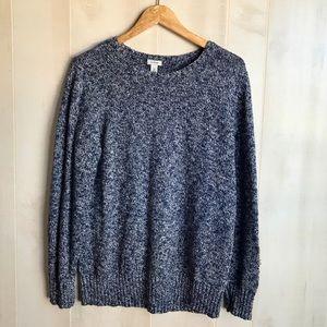 L.L. Bean Women's Cotton Ragg Marled Sweater Sz XL